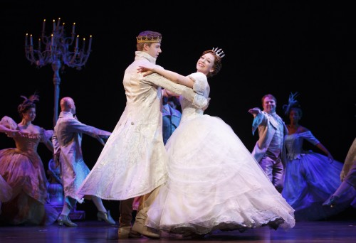 Rodgers + Hammerstein's CINDERELLA tour company. Photo Credit: Carol Rosegg.