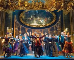 """Phantom of the Opera.The Company performs """"Masquerade."""" Original Tour Cast."""