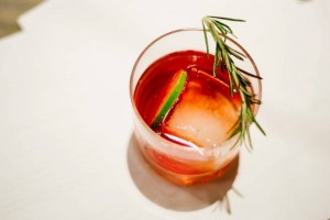 Rosemary Lime Negroni