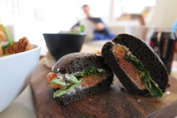 Healthy Lox Sandwich Unsplash Helena Martinez. Healthy Eating. TheSceneinTO.com