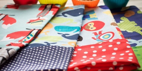 funkins, reusable cloth napkins, 100% cotton. TheSceneinTO.com