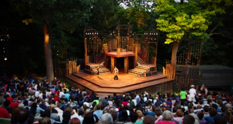 shakespeare in high park stage