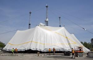 Cirque du Soleil's LUZIA The Big Top