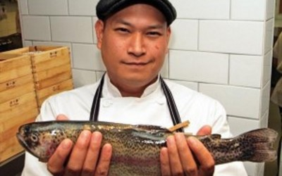 Chef Nick Liu. TheSceneinTO Summer Food & Wine Series