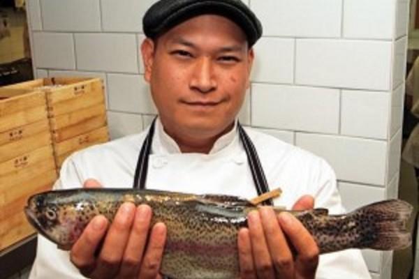 Chef Nick Liu. TheSceneinTO Summer Food & Wine Series