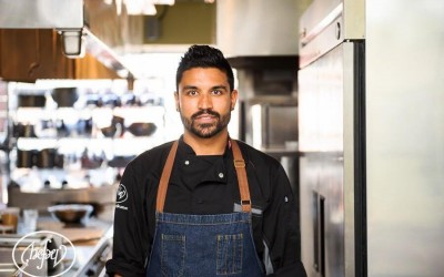 Chef Devan Rajkumar. Summer Wine & Food Series. TheSceneinTO.com