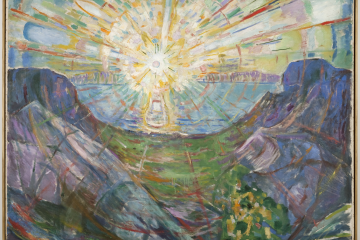 Edvard Munch The Sun 1910-13 Oil on canvas 162 x 205 cm Collection of the Munch Museum, Oslo Image courtesy of Munch Museum