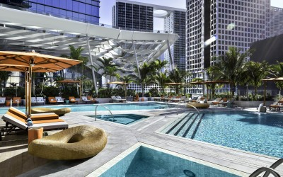 Hotel EAST, Miami, hotel, poolside. TheSceneinTO.com