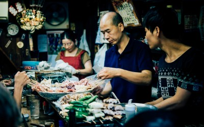 .Foodie Travel Trend: Culinary Cultural Immersion, Indigenous Epicurean Adventure for 'Victual Vacationers' TheSceneinTO.com Asian Food Prepping Unsplash lan-pham-132874
