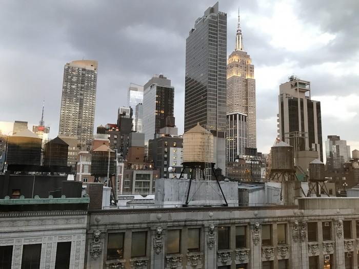 New York's Hotel Innside NoMad Skyline View