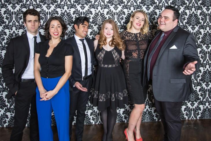 SC TourCo - LR - Greg Cochrane, Nadine Djoury, Sharjil Rasool, Allana Reoch, Aimee Ambroziak, Josh Murray - Photo by Racheal McCaig