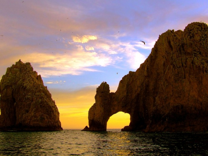 Cabos San Lucas , Mexico El Arco at Dusk. TheSceneinTO.com