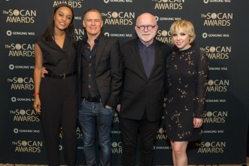 Ruth B, Bryan Adams, Jim Vallance and Carly Rae Jepsen. (Grant W. Martin Photography)
