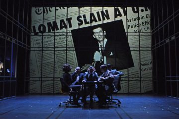 North by NorthWest - Theatre Royal Bath. Credit: Nobby Clark