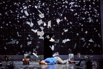 Joshua Jenkins (Christopher Boone) - Curious Incident International Tour. Photo: Brinkhoff/Mögenburg