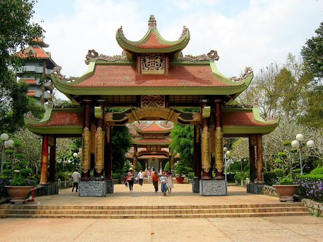 Vietnam Ben Duoc Temple and Shrine.