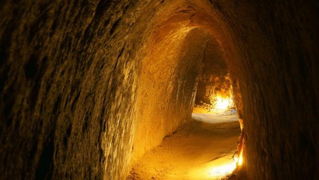Vietnam Cu Chi-Tunnels.