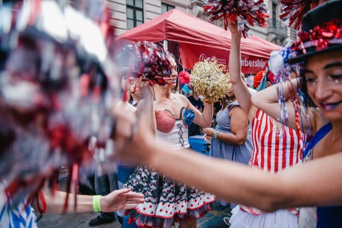 Bastille Day Fun. Photo: Britanny Buongiorno, courtesy of the French Institute Alliance Française (FIAF)