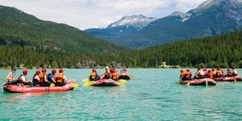 !0 things to do in Whistler. RAFTING