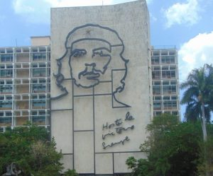 Cuba. Revolution Square. Che Guevara Monument. TheSceneinTO.com